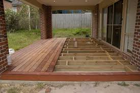 Backyard Concrete Slab Deck Over Concrete Patio View Topic Can U Deck Over Existing