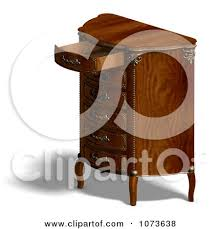 Clipart Armchair Royalty Free Rf Clipart Of Dressers Illustrations Vector