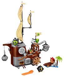 lego the angry birds movie piggy pirate ship 75825 toys