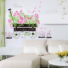the flower of nature scenery scenery figure poster home decoration free shipping decorative diy 3d flower nature wall decal living room wall mural