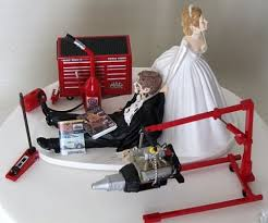 mechanic cake topper i do cake wedding and