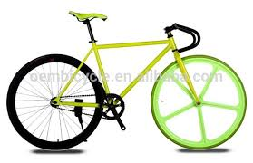 fixie design new design 700c hi ten steel frame magnesium alloy one wheel fixie