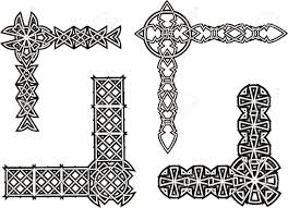 Medieval Decorations 7 328 Medieval Border Stock Illustrations Cliparts And Royalty