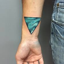 37 best triangle tattoo images on pinterest doodles galaxies