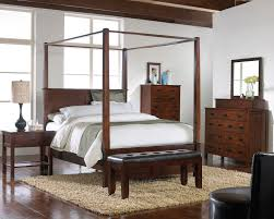 bedroom amazing black carving canopy bed for bedroom complete