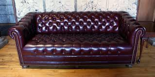 Black Leather Chesterfield Sofa Black Leather Chesterfield Sofa Salvage One