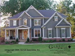 house plans craftsman style garrell associates inc astoria house plan 98106 traditional