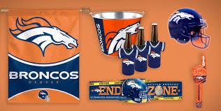 Bronco Flag Nfl Denver Broncos Party Supplies Decorations U0026 Party Favors