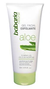 Scrub Gel babaria naturals aloe vera exfoliating scrub gel 150ml