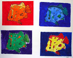 mrspicasso u0027s art room andy warhol color theory animals