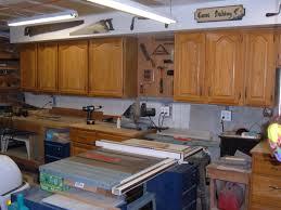 kitchen cabinets workshop my woodshop storage ideas recycling kitchen cabinets into