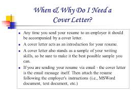 cover letter via email send a resume via email sles
