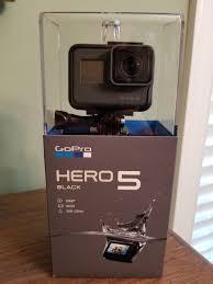 gopro hero 5 black edition action camera ebay