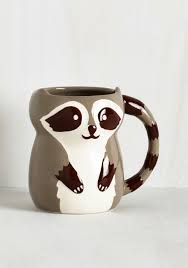 heart shaped mugs that fit together bandit together mug multi multi critters woodland creature