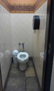 bathroom interior decoration woodland hotel public bathroom stock