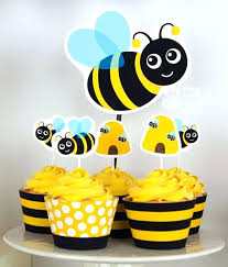 bumble bee cake topper baby bumble bee cake topper wrap your cupcake cups with our