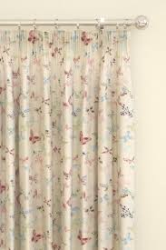 butterfly vintage curtains by prestigious wallpaper direct