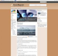 top magazine journal blog template 12 free sample example