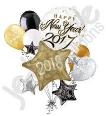 happy new year balloon 2017 happy new year cluster balloon bouquet jeckaroonie balloons