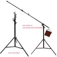 studio light boom stand light stand boom arm dual function heavy duty sku gr 01026 r1
