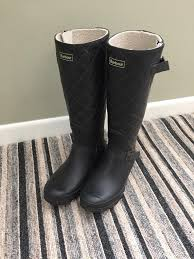 barbour womens boots uk barbour womens wellies wellington boots black size 7 hardly worn