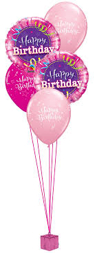 happy birthday balloon pink happy birthday balloon bouquet party fever