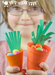 easter egg baskets to make easy carrot easter baskets kids craft room