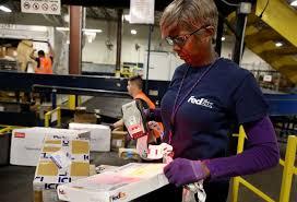 bureau fedex fedex workers race to meet record demand san antonio express