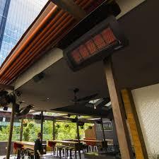 gas ceiling heaters patio bromic heating tungsten 500 smart heat 25 inch 43 000 btu natural