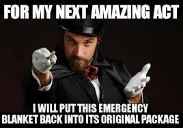 Magician Meme - meme magician amazing act woodland gear