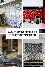 Mosaic Kitchen Backsplash 26 Bold Mosaic Kitchen Backsplashes To Get Inspired Digsdigs