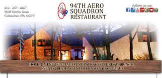 the 94th aero squadron restaurant columbus ohio port columbus