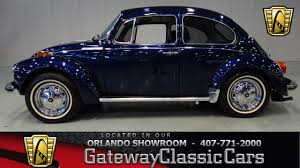 modified volkswagen beetle 1973 volkswagen beetle gateway classic cars orlando youtube