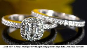 wedding rings redesigned s wedding ring redesign reveal cincy chic