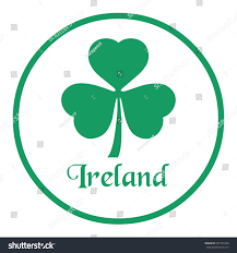 floral emblem ireland shamrock stock vector 397145758 shutterstock