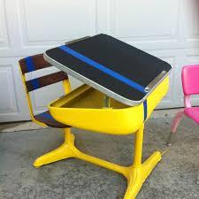 Kid School Desk Best 25 Vintage School Desks Ideas On Pinterest School Desks
