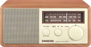 amazon com sangean wr 11 wood cabinet am fm table top analog