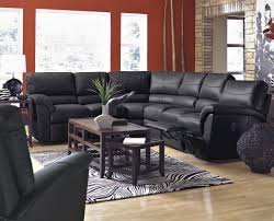 furniture black lazy boy sectionals with rustic coffee