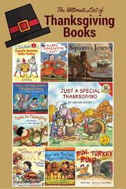 the ultimate list of thanksgiving books to read for homeschoolers