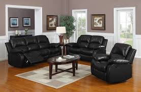 Black Leather Reclining Sofa And Loveseat Sofa Recliner Reviews Leather Recliner Sofa Set Reviews