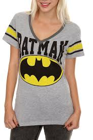 dc comics batman grey hockey girls t shirt for women aewom