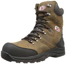 v12 rocky zip sided waterproof safety hiker 05 uk 38 eu brown