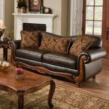 Nixon Sofa Curved Leather Couches Foter