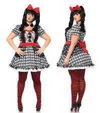 Marionette Doll Halloween Costume Leg Avenue 85599x Size Darling Babydoll Halloween Costume