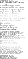 bob dylan song this wheel u0027s on fire lyrics and chords