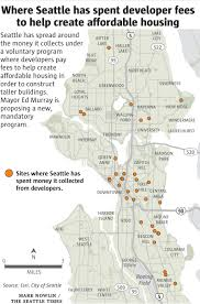 City Of Seattle Zoning Map by Plan To Boost Affordable Housing In Seattle Falls Short Of Mayor U0027s