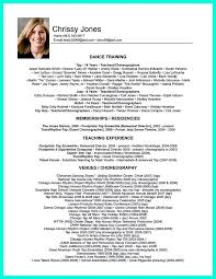Substitute Teacher Resume Examples by Dance Resume Dance Audition Resume Examples Dance Resume Format