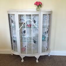 my vintage china cabinet found on gumtree it came already