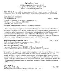 Sample Resume For Government Employee by Security Manager Skills Resume Security Manager Resume Resume Cv