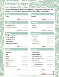 printables easy budget worksheet ronleyba worksheets printables